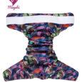 Magabi zsebes pelenkakülső – OS (3,5-15 kg) – Poppy Field – Tépőzáras