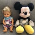 Anavy mosható pelenka játékbabának – Madarak (sárga)