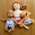 Anavy mosható pelenka játékbabának – Süni